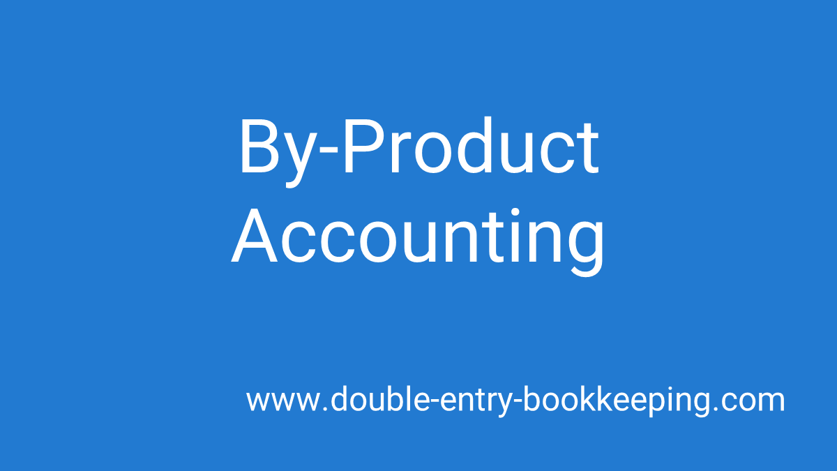 byproduct accounting