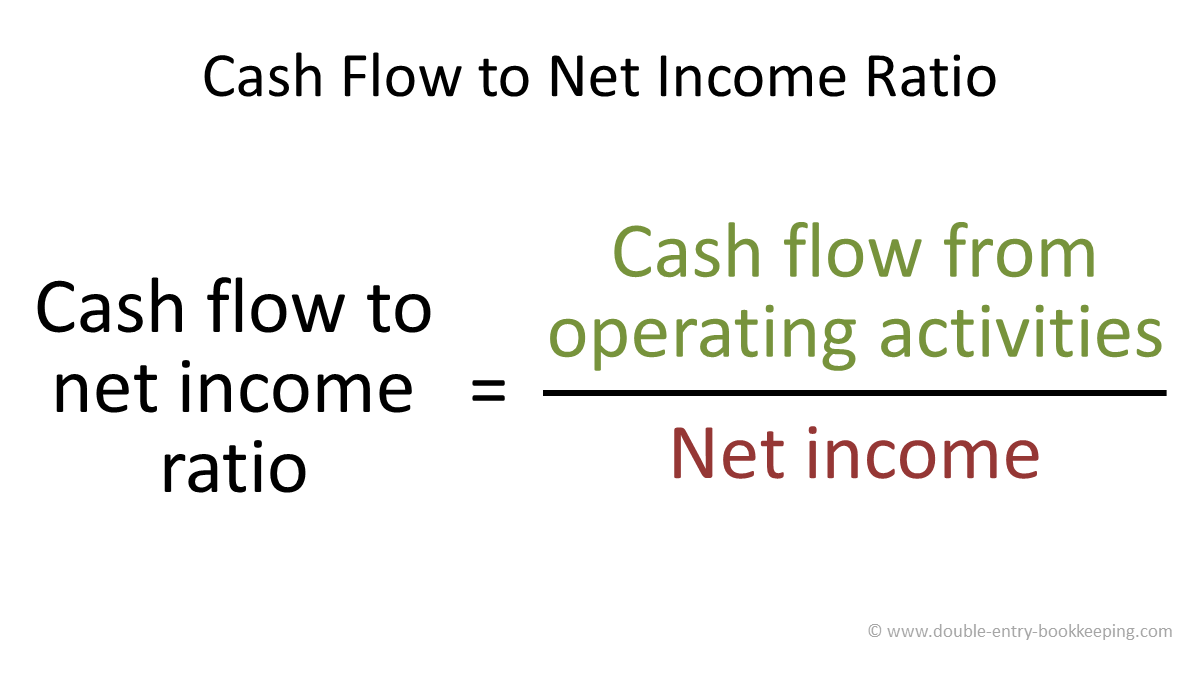 cash flow ratio