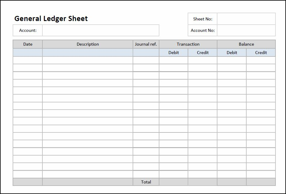 photo about Printable Ledger Page identified as Total Ledger Sheet Template Double Obtain Bookkeeping