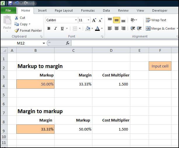 margin markup calculator and converter double entry bookkeeping