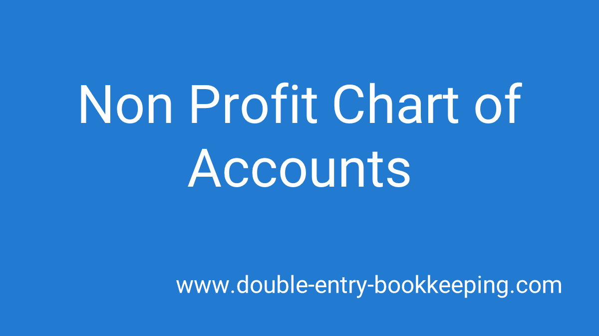 non profit chart of accounts featured