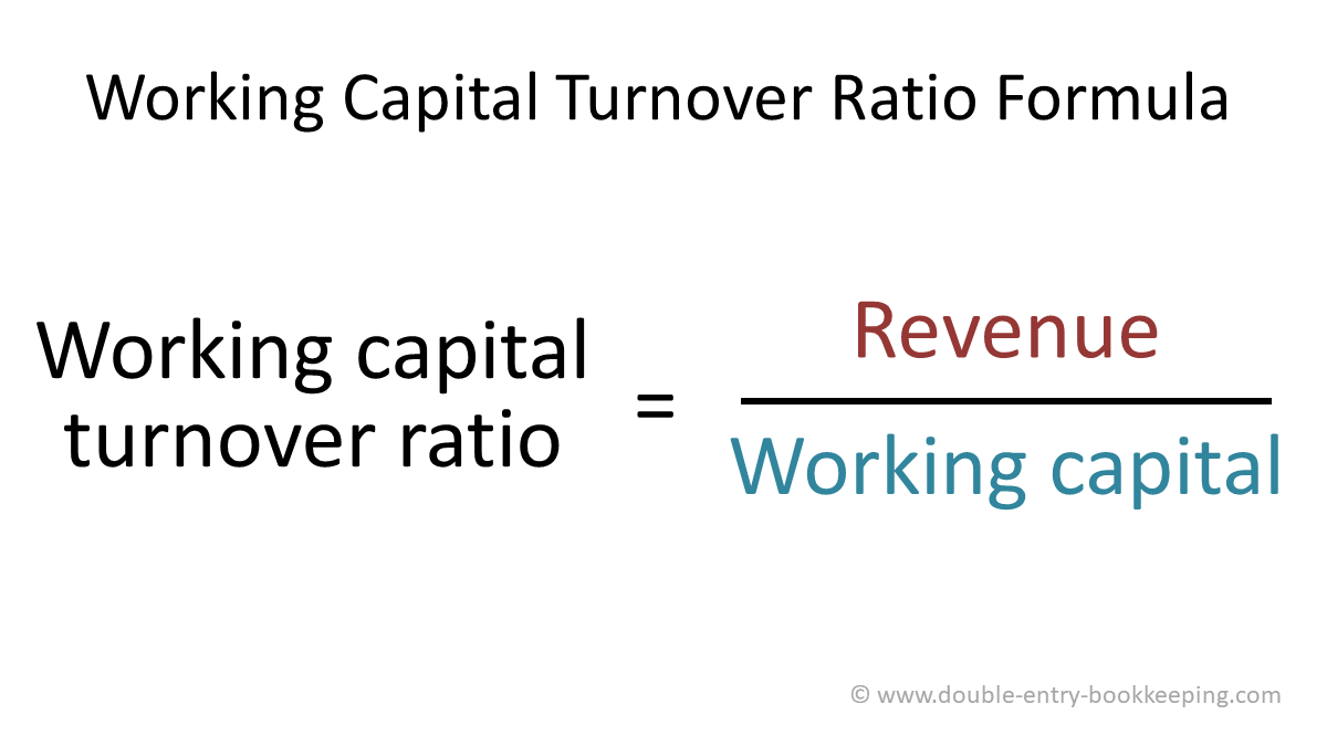 working capital turnover ratio